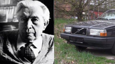 Potomci básníka Jaroslava Seiferta prodávají Volvo, které pořídili za odměnu z Nobelovy ceny