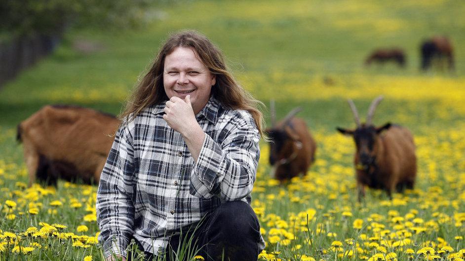 Farmář Tomáš Koželuh