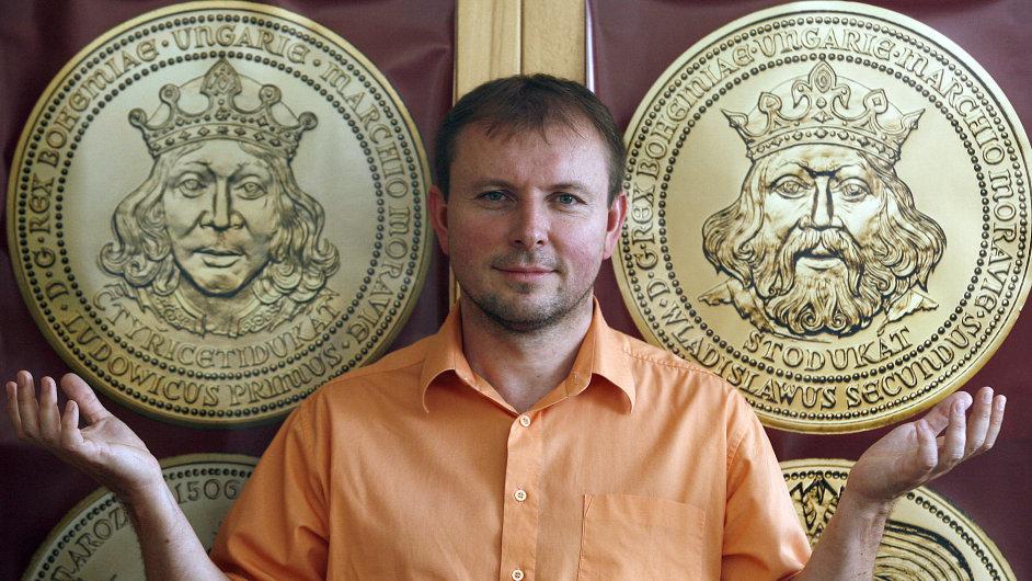 Ředitel jablonecké České mincovny Radek Šulta.