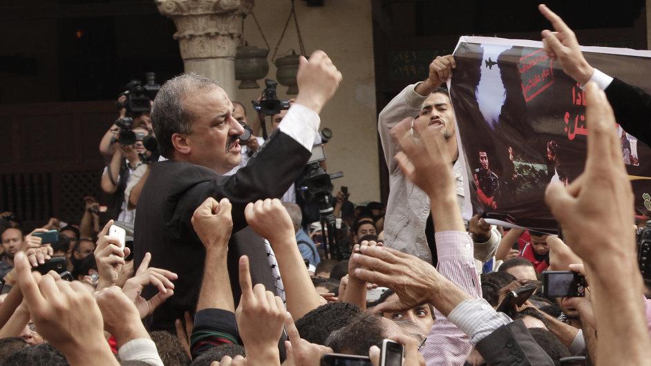 Zadržený vůdce islamistů Muhammad Baltágí