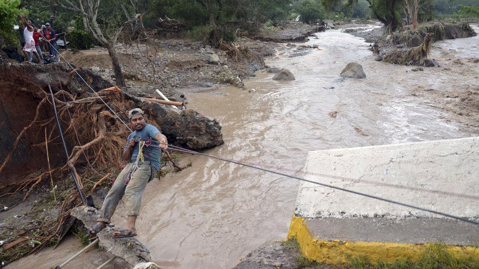 Záplavy v Mexiku