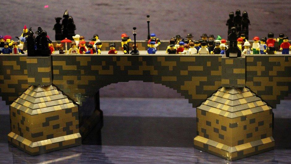 Největší LEGO model Karlova mostu na světě