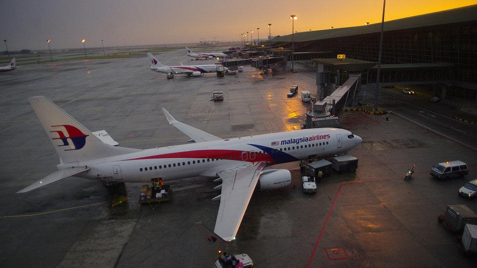 Letoun společnosti Malaysia Airlines