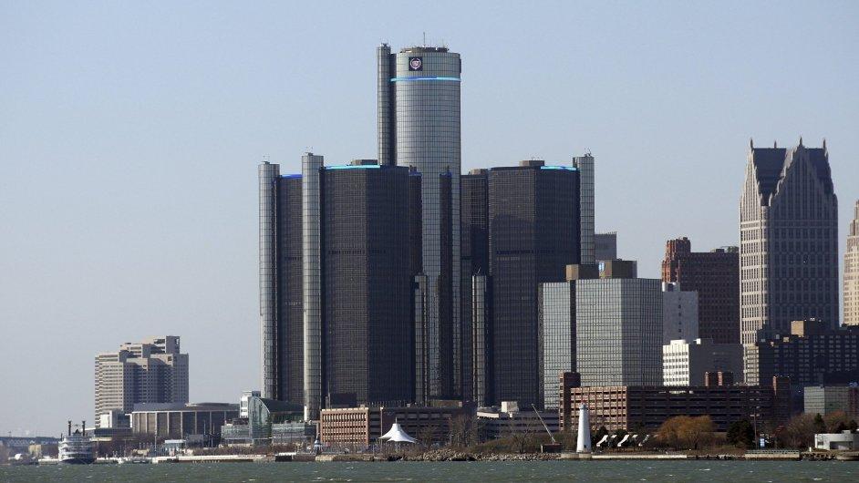 Sídlo General Motors v americkém Detroitu.