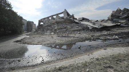 Výrobní haly OP Prostějov šly k zemi.