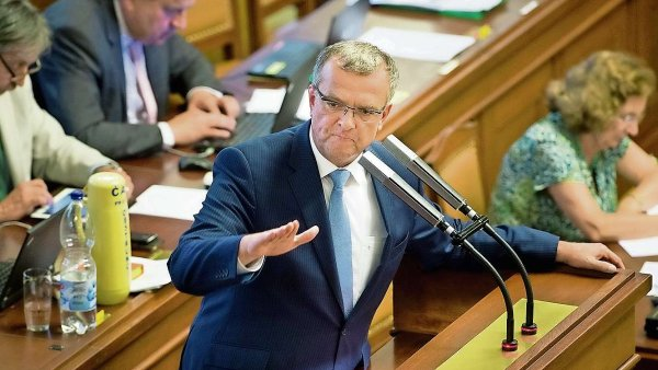 Místopředseda TOP 09 Miroslav Kalousek