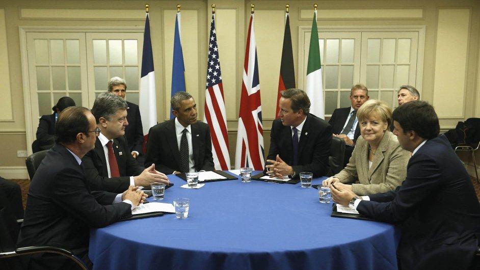 Klíčový summit NATO.