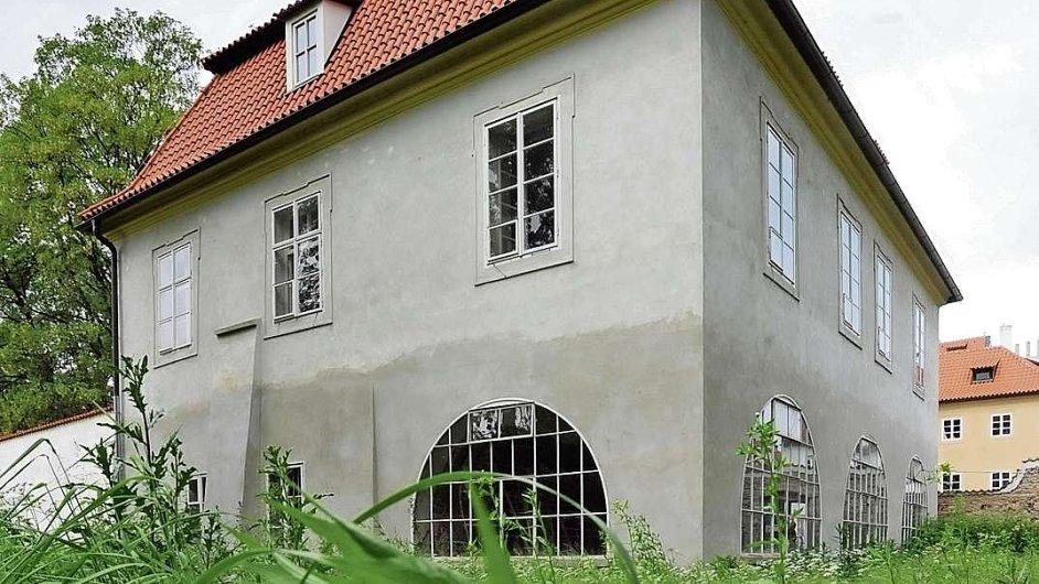 Chátrající Werichova vila