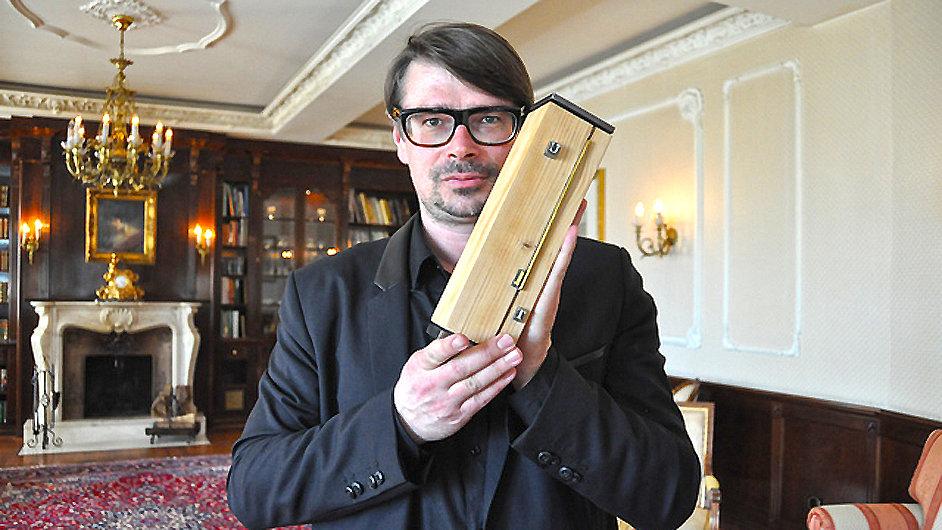 Jaroslav Rudiš v dubnu převzal Usedomskou literární cenu.
