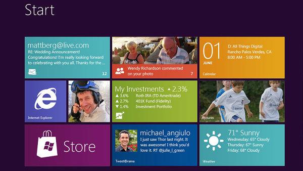Microsoft v �ter� p�edstav� novou verzi Windows. D�raz d� na podnikov� funkce a cenu