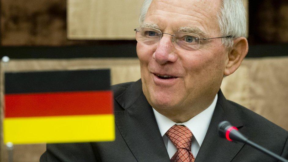Ministr financí Německa Wolfgang Schäuble kritizuje firmy, které se vyhýbají daním (ilustrační foto).