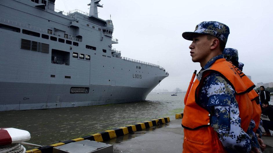 Mistral v Číně