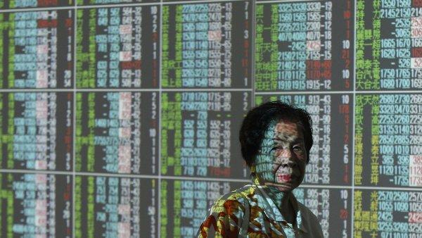 Akcie na čínských akciových trzích padají. A s nimi i světové komodity - Ilustrační foto.