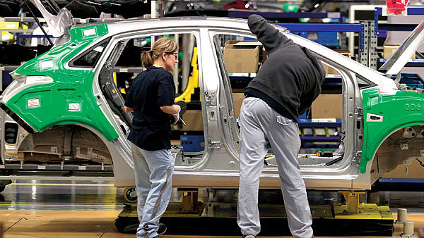 Tahounem českého průmyslu jsou již léta automobilky.