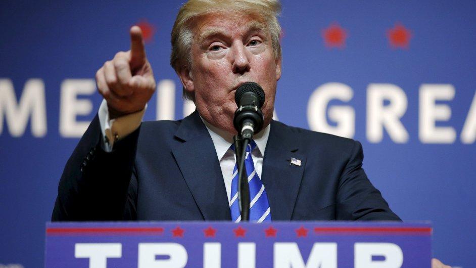 Donal Trump během své kampaně.
