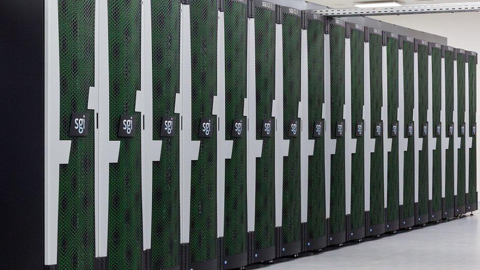 Superpočítač - ilustrace