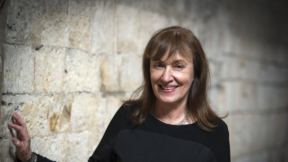 Na snímku nová ředitelka Sbírky moderního a současného umění Národní galerie Milena Kalinovská.