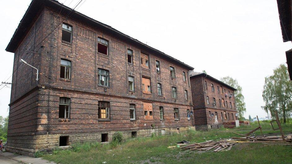 Ghetto v ulici Přednádraží v Ostravě-Přívoze