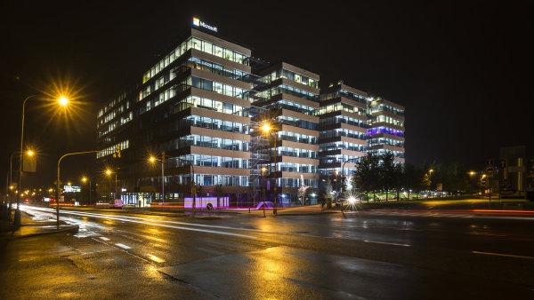 Největší kolaudované kancelářské centrum v zemi za rok 2015.