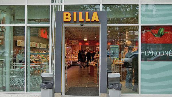 Německý provozovatel prodejen Billa musí zaplatit pokutu téměř 24 milionů - Ilustrační foto.