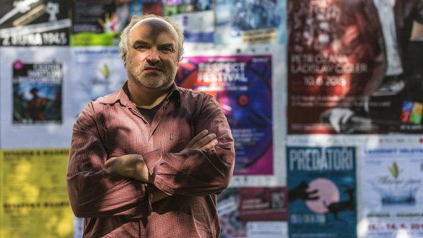 Na snímku z letošního června generální ředitel Národní galerie Jiří Fajt.