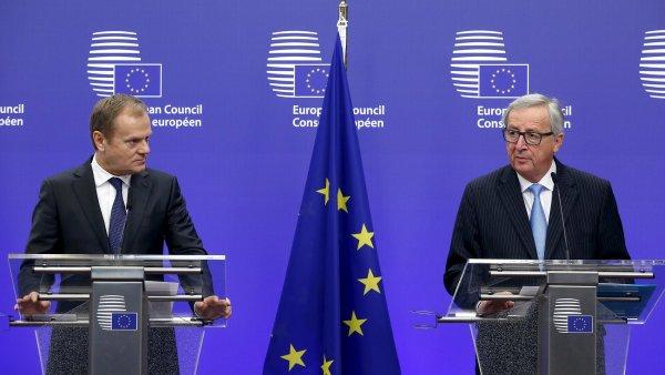 P�edseda Evropsk� rady Donald Tusk a p�edseda Evropsk� komise Jean-Claude Juncker v p�tek p�edstav� tureck�mu prezidentovi n�vrh dohody, kter� vznikl na �tvrte�n�m summitu.