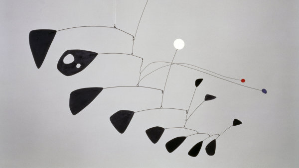 Alexander Calder: Antennae with Red and Blue Dots, 1953