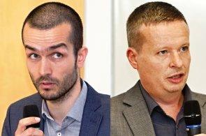 David Hlouch a Vojtěch Mencl, nově zvolení členové představenstva České komory architektů (ČKA)