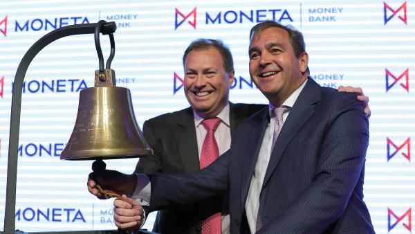 Dividendovou sezonu na pražské burze zahájila tento týden Moneta Money Bank.