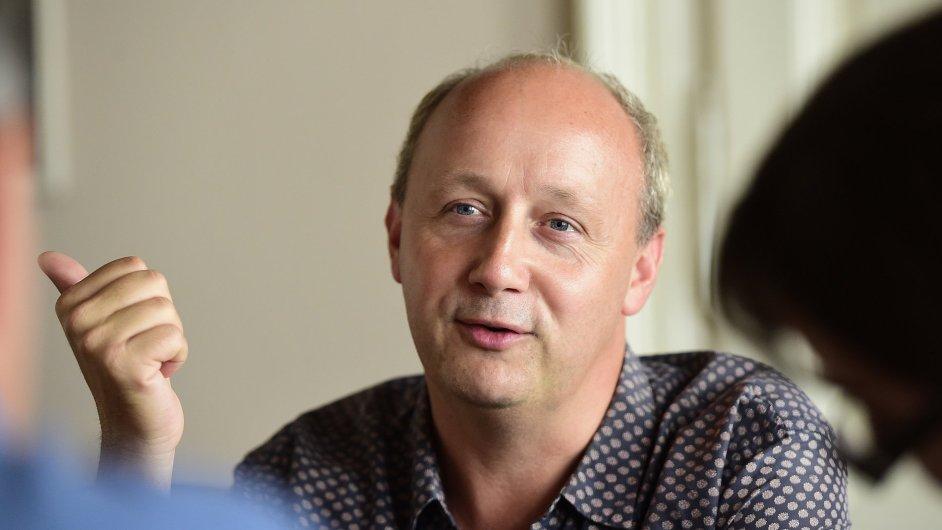 Belgický autor Pieter De Buysser bude na ostravském fóru Meltingpot přednášet v sobotu večer.