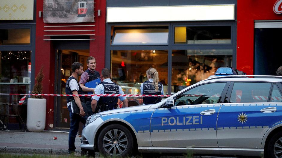 Reutlingen útok Německo