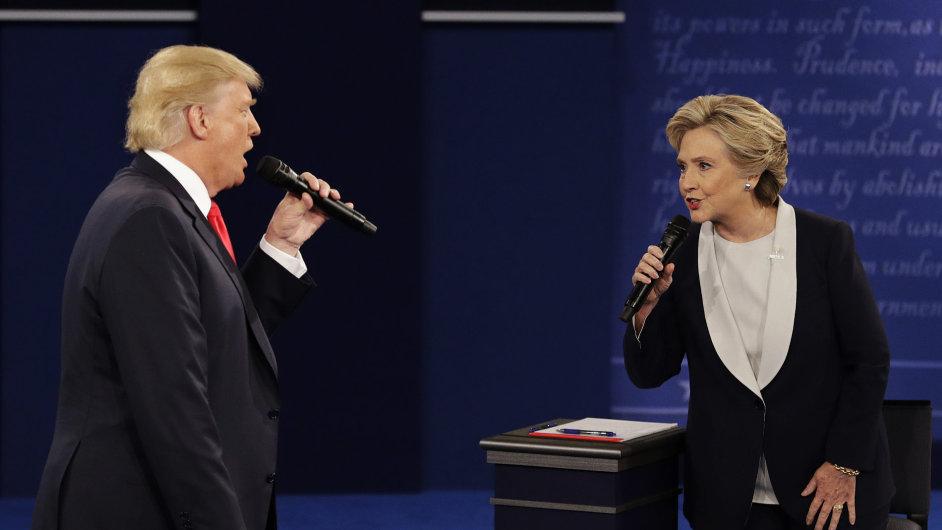 USA, volby, Trump, Clinton