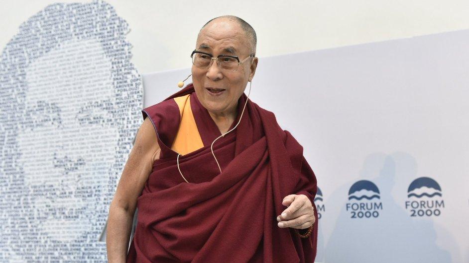 Dalajlama na Foru 2000.