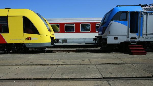 Ministerstvo by chtělo, aby na vlaky různých společností platila jedna jízdenka - Ilustrační foto.