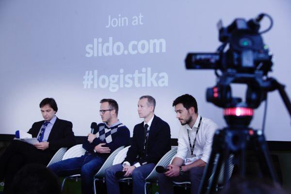 Konference Logistika - Jakub Šulta (Košík.cz), Ondřej Tomeš (Koloniál.cz), Ladislav Bárta (Rohlík.cz)