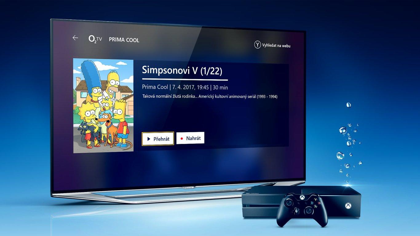 O2 TV na Xboxu One
