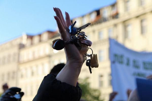 Praha demonstrace