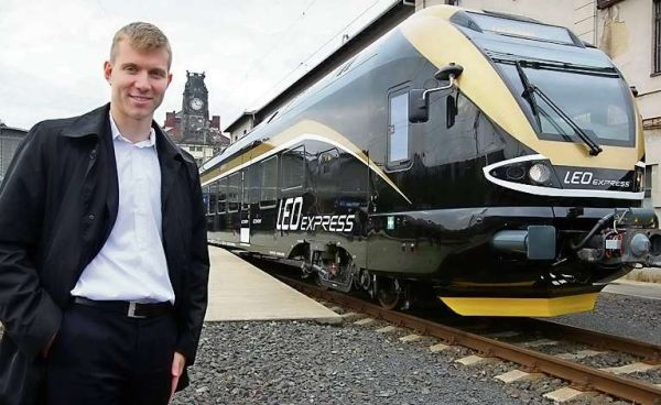 Šéf a jeho vlak