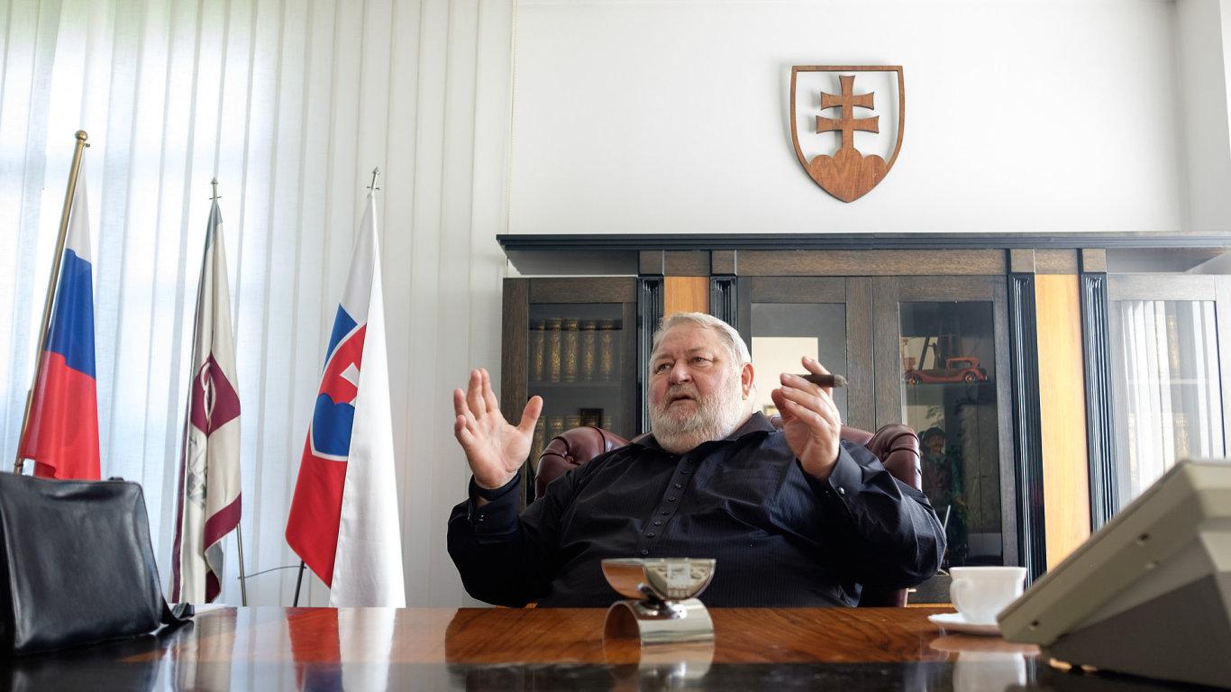 Vladimír Soták, Železárny Podbrezová