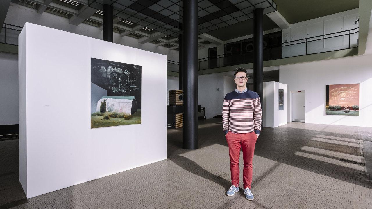 Zakladatel a umělecký ředitel Chemistry gallery Petr Hájek
