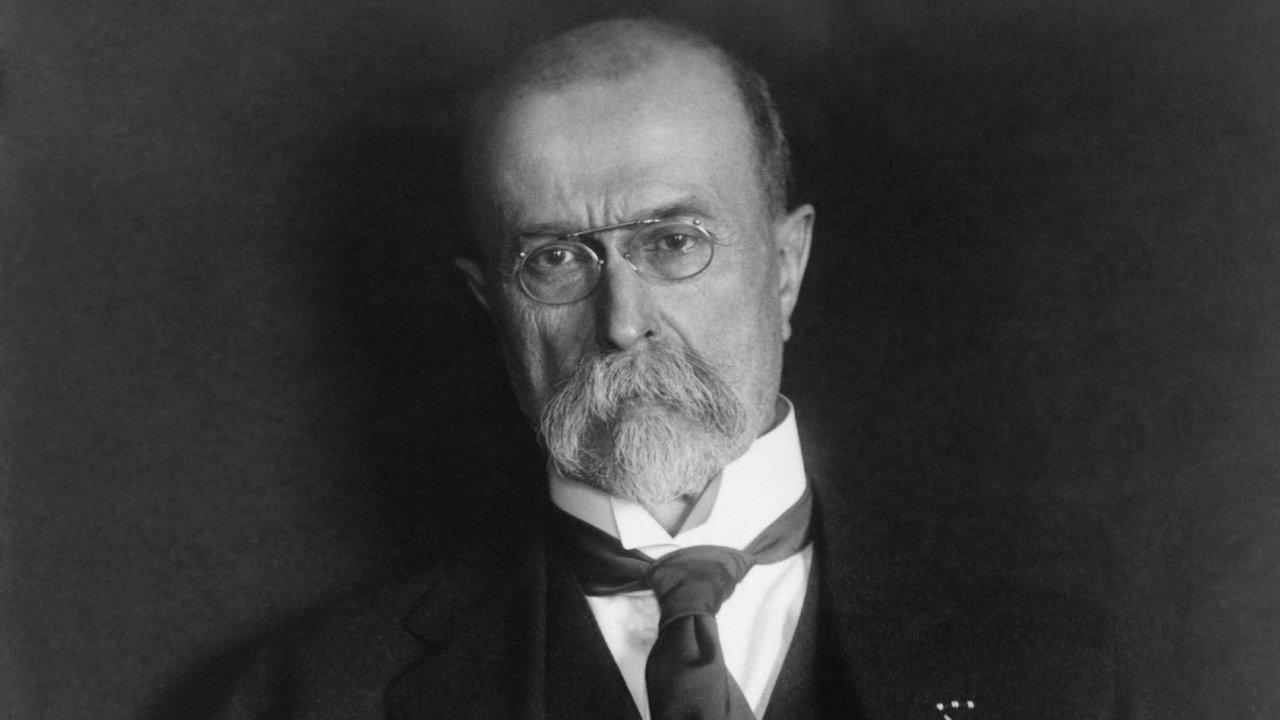 Tomáš Garrigue Masaryk má na fotkách paradoxně velmi blízko k mocnářům, jimž Československo vzal.