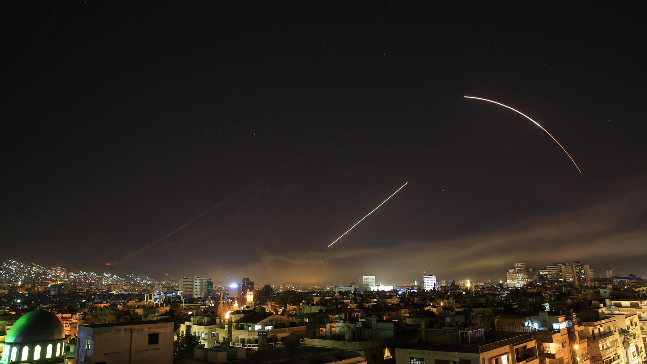 Zásah proti Sýrii