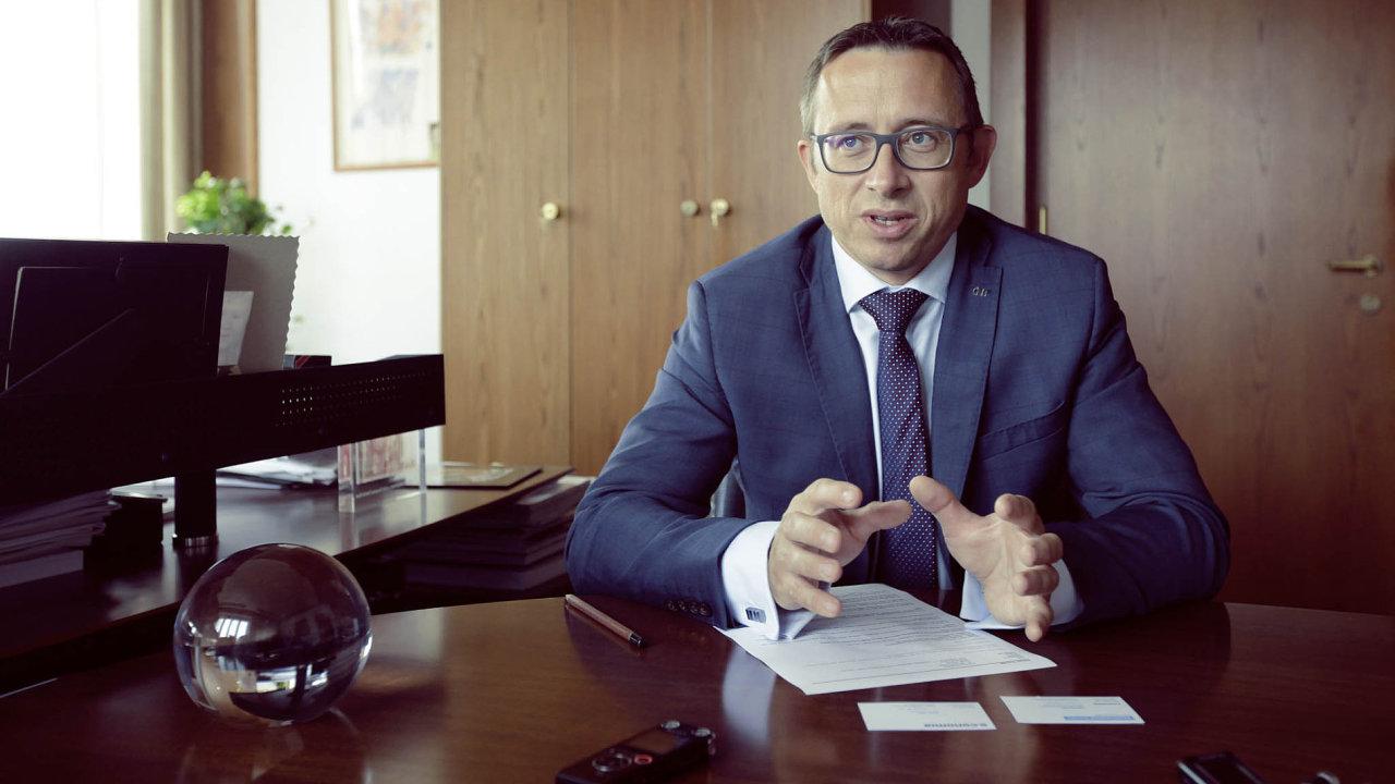Ředitel měnové sekce ČNB Tomáš Holub.