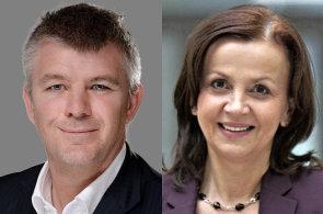 Nick Kós, řídící partner pro střední a východní Evropu společnosti PwC, Olga Grygier-Siddons post po čtyřech letech opouští