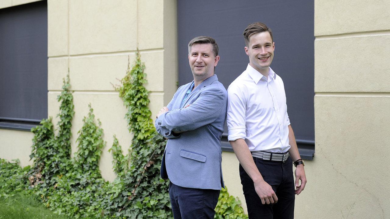 Nikola Carič a Lukáš Smetana jsou dva ze tří inovátorů, kteří stojí za projektem Dustee.