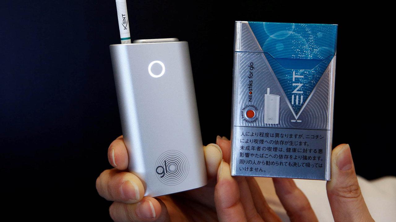 V úterý firma British American Tobacco představila vCubex centru napražské Pankráci svůj bezdýmný tabákový produkt glo.