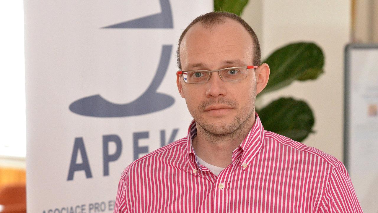 Jan Vetyška, šéf Asociace pro elektronickou komerci (APEK), jež sdružuje e-shopy.