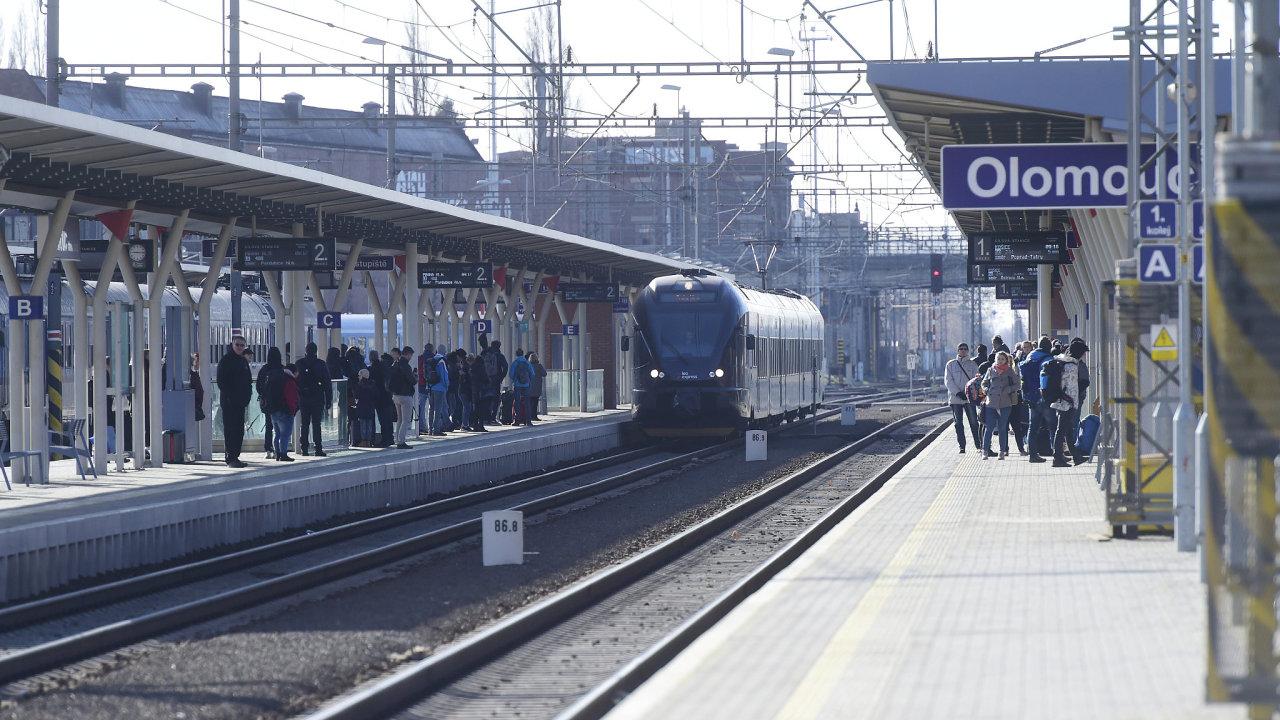Olomouc, nádraží