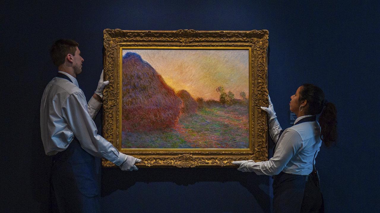 Meules, Kupky sena Monet