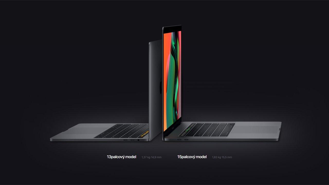 Nové Macbooky Pro mají procesory s více jádry včetně rekordního Core i9